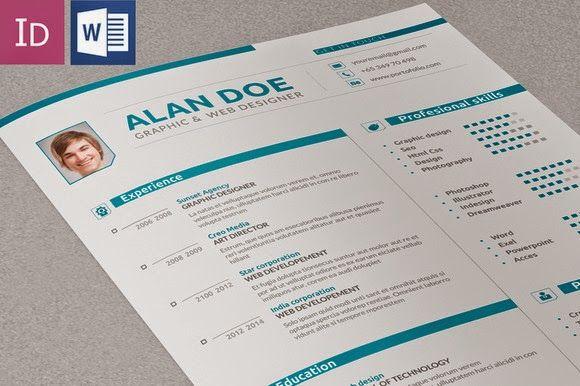 Contoh Resume Yang Baik Download Segera Cover Letter For Resume Graphic Design Resume Graphic Designer Resume Template