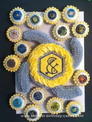 Beyblade Battle Eßbar Tortenaufleger Party Deko Geburtstag Muffin Cupcake neu