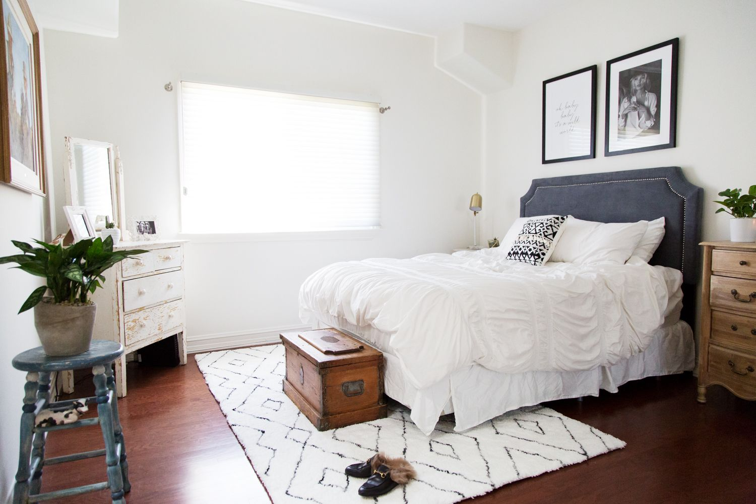 Updating The Guest Bedroom With Rugs Usa S Snowpeak Kz01