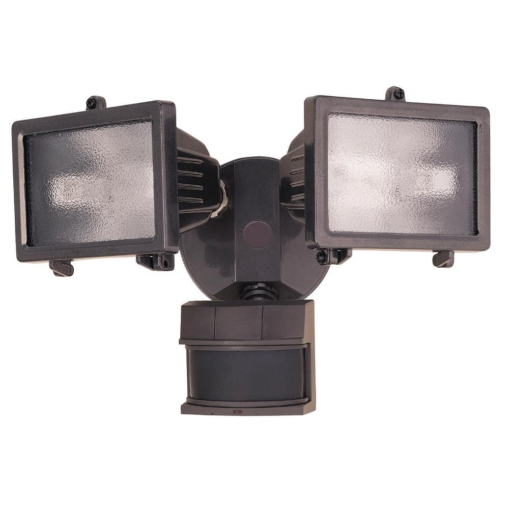 240 Degree Bronze Motion Activated Outdoor Flood Light Products