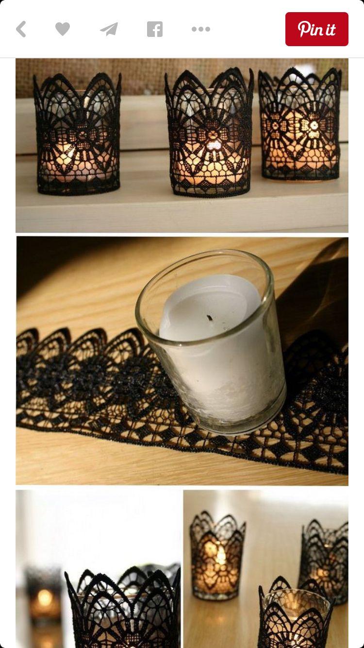 Great Idea Wedding Centerpieces Diy Diy Wedding Decorations Creative Candles