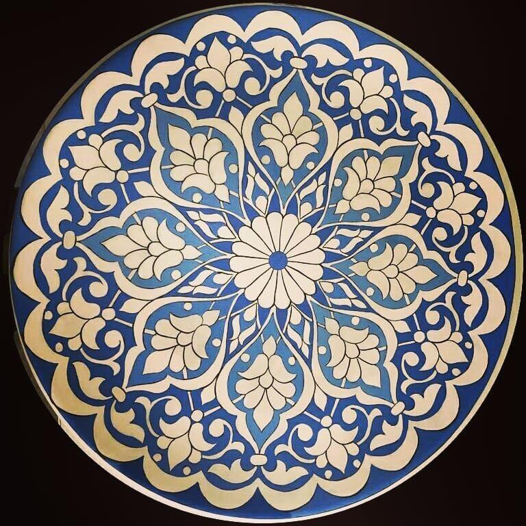 Goruntunun Olasi Icerigi Ic Mekan Persian Art Painting Turkish Art Ceramic Art