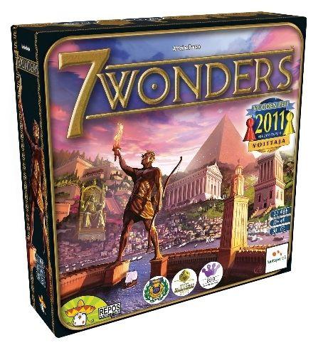 118058  2-0-SIDE 7 Wonders Brettspill - Grunnspillet Årets spill for voksne (Guldbrikken)