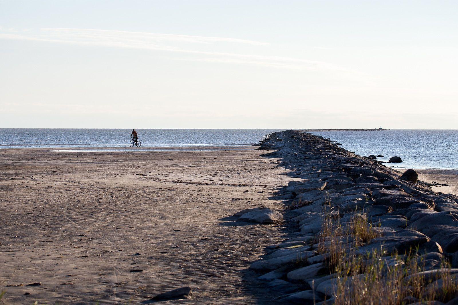 Veetaseme langus Pärnu lahes