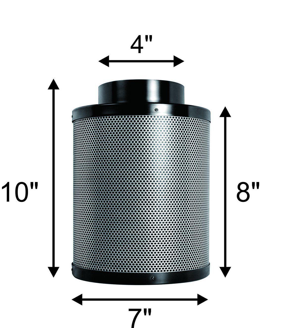 Penseetek 4 inch Carbon Air Filter Grow Tent4 inch Grow