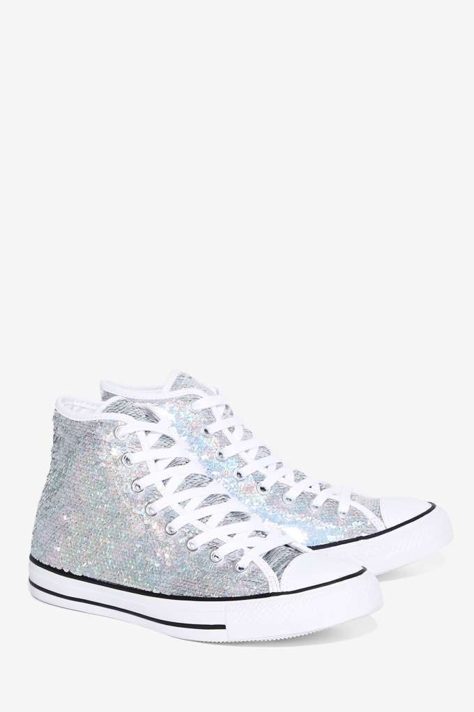 Converse Chuck Taylor Holiday Party Sequin High-Top Sneaker - Sneakers |  The Ice Queen
