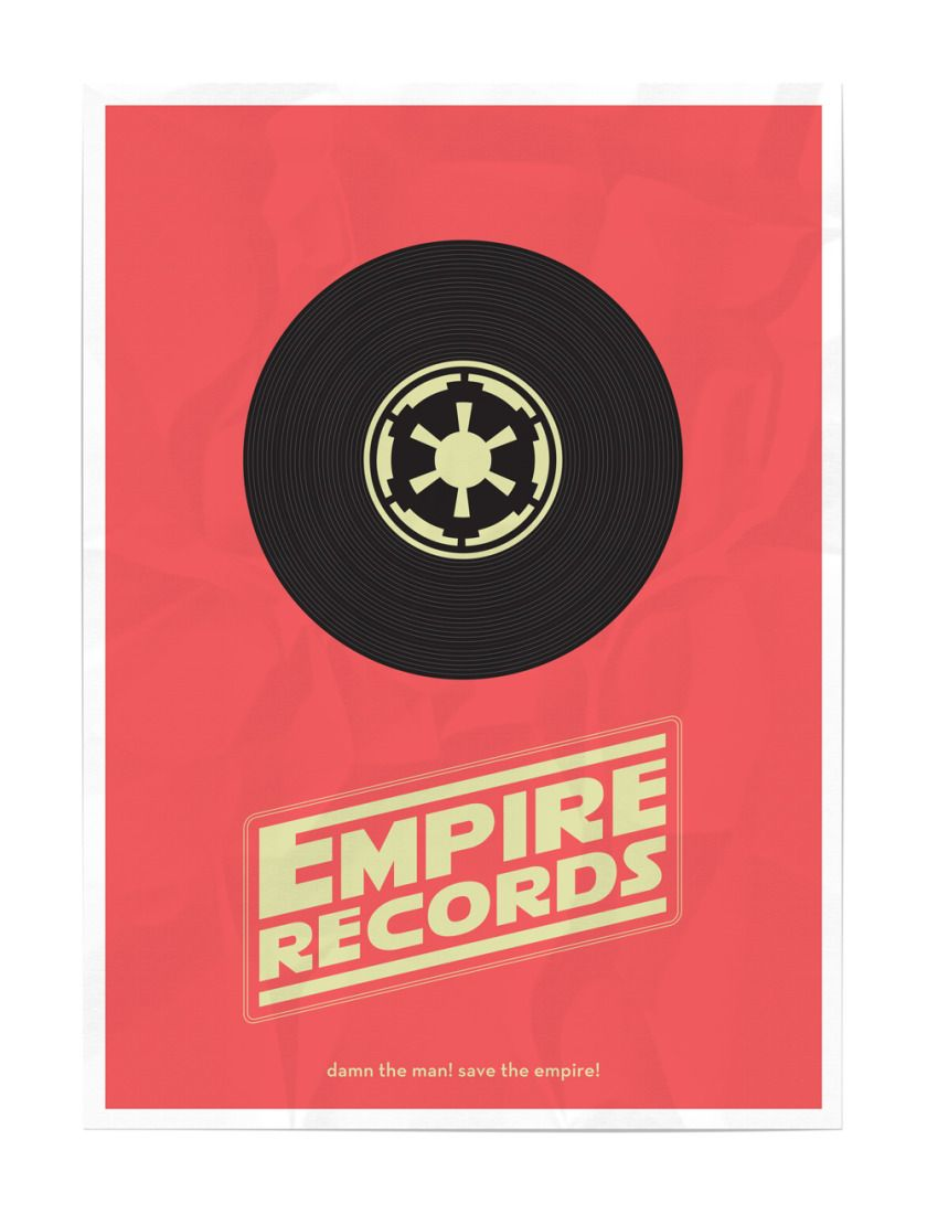 STAR WARS Movie Mash-Up Posters - News - GeekTyrant   # Pin++ for Pinterest #