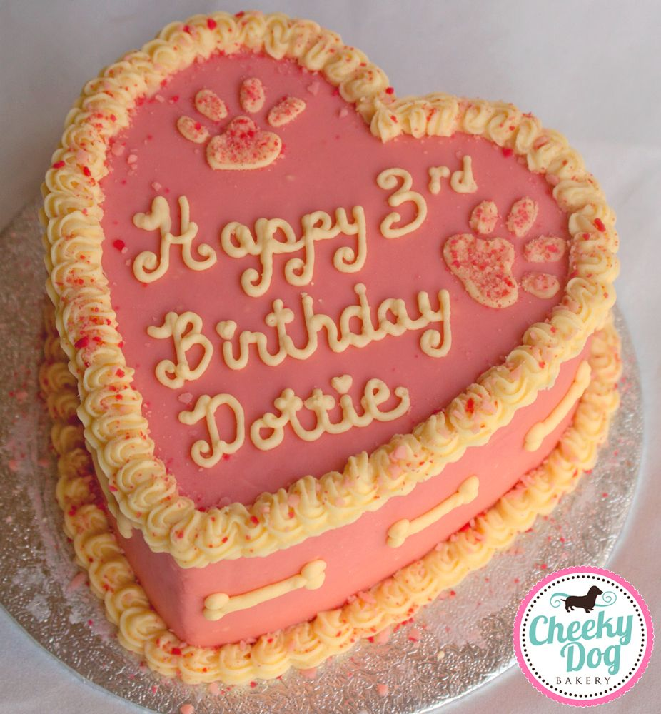 Cheeky Dog Bakery Dublin Ireland Cakes Dottie Heart Shaped