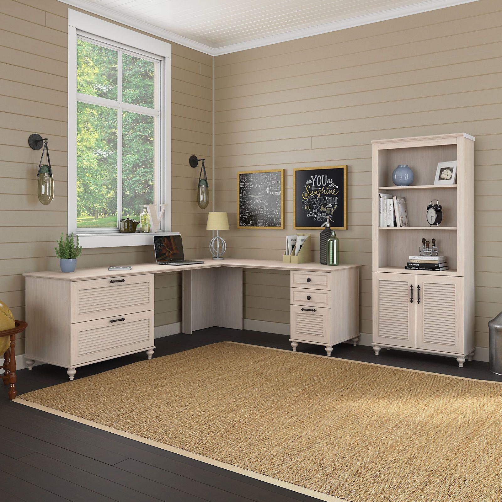 Open Window At Dusk: Volcano Dusk 2 Piece Desk Office Suite In 2019