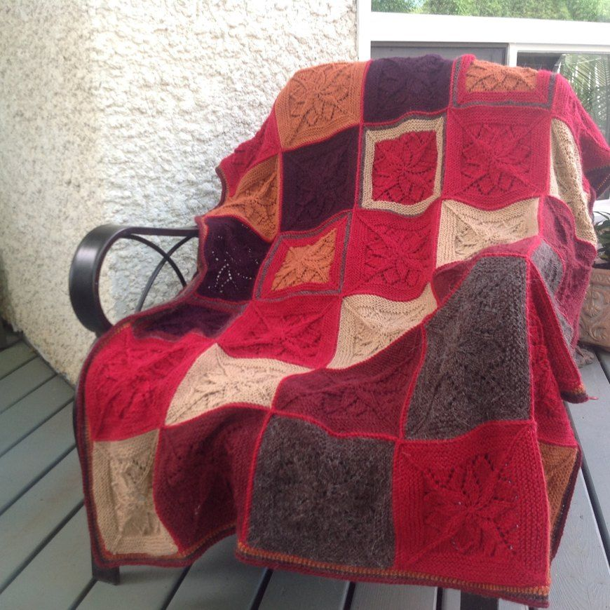 Vivid Blanket from Tincan Knits knitting project by Tambi D