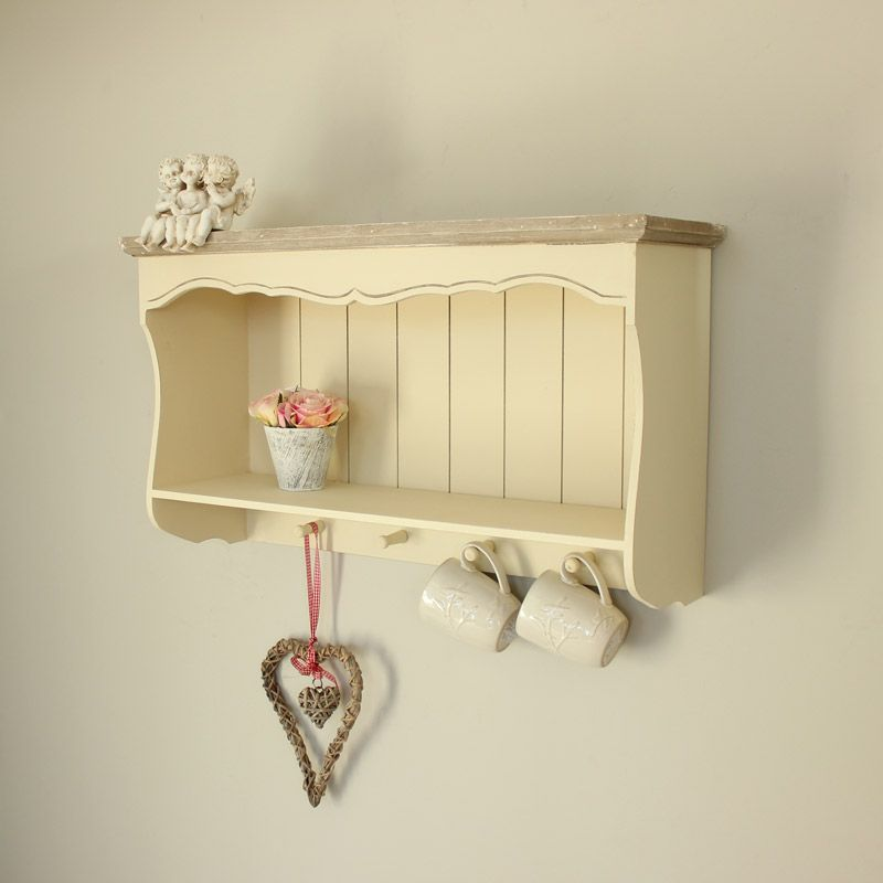 Superbe Country Ash Range   Cream Wall Shelf