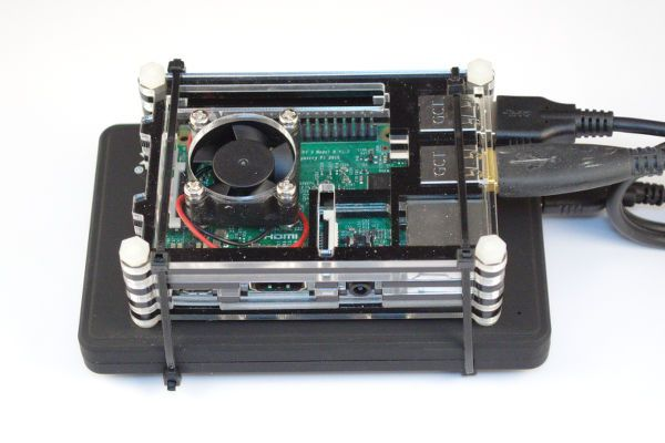 A Raspberry Pi and a small SSD make for a great low power