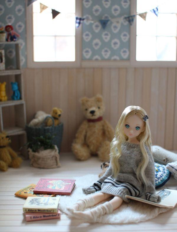 小さいもの Peu Connu 赤ちゃんの人形 ジオラマ 作り方 可愛い 人形