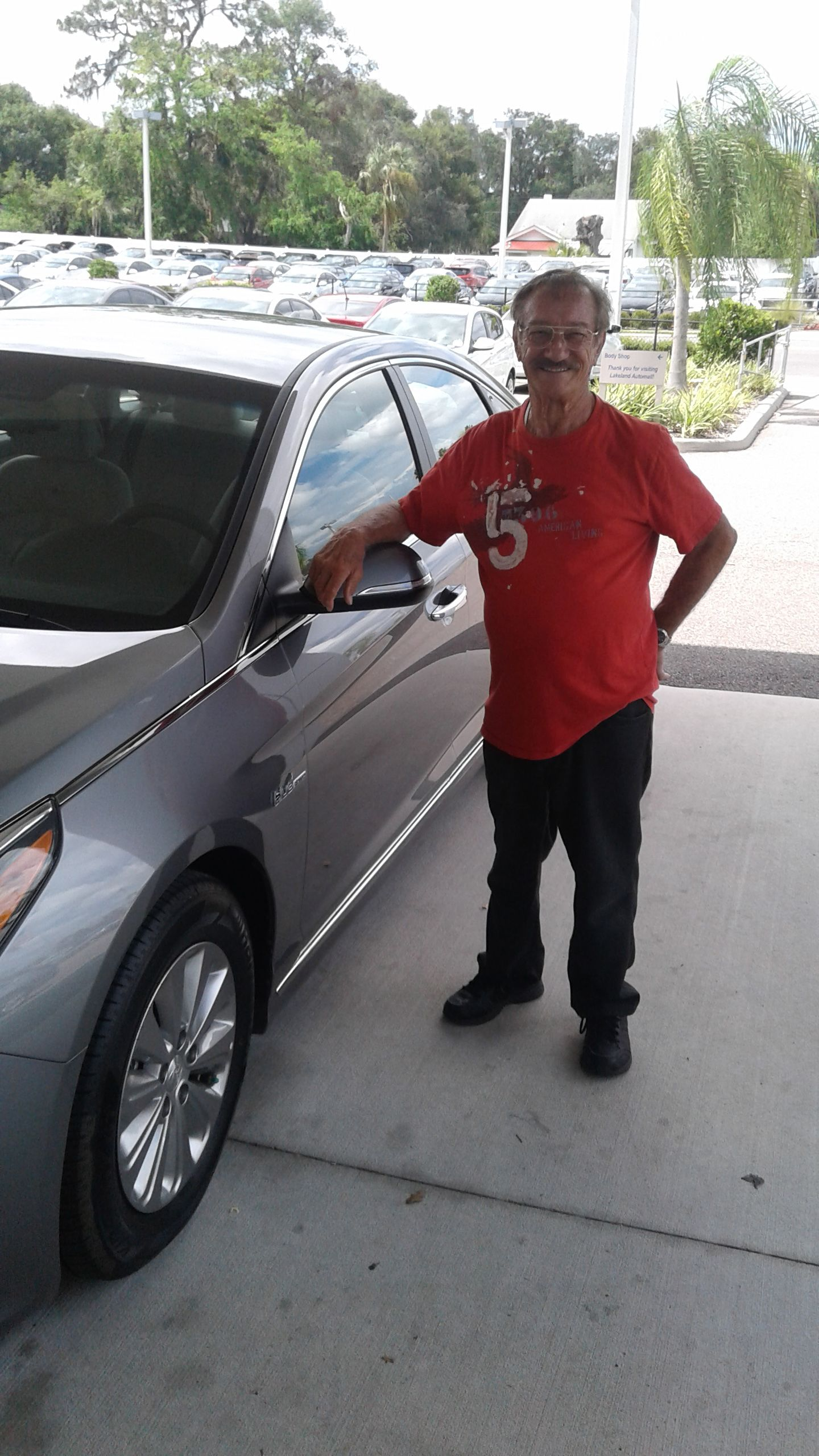 Mr. John Richard came into Lakeland Hyundai in the hopes of finding