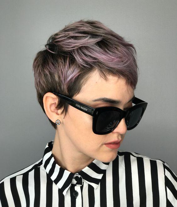 10 cortes de pelo Pixie de moda para rubias y morenas 2020