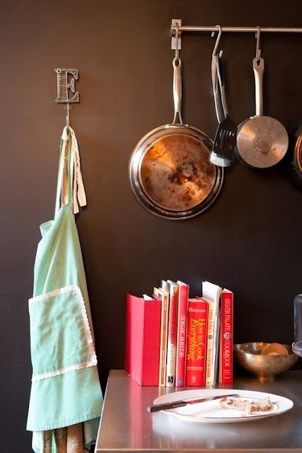 Kitchen and your things.