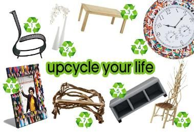 Recycling mal anders... Upcycling ist der neue Top-Trend!