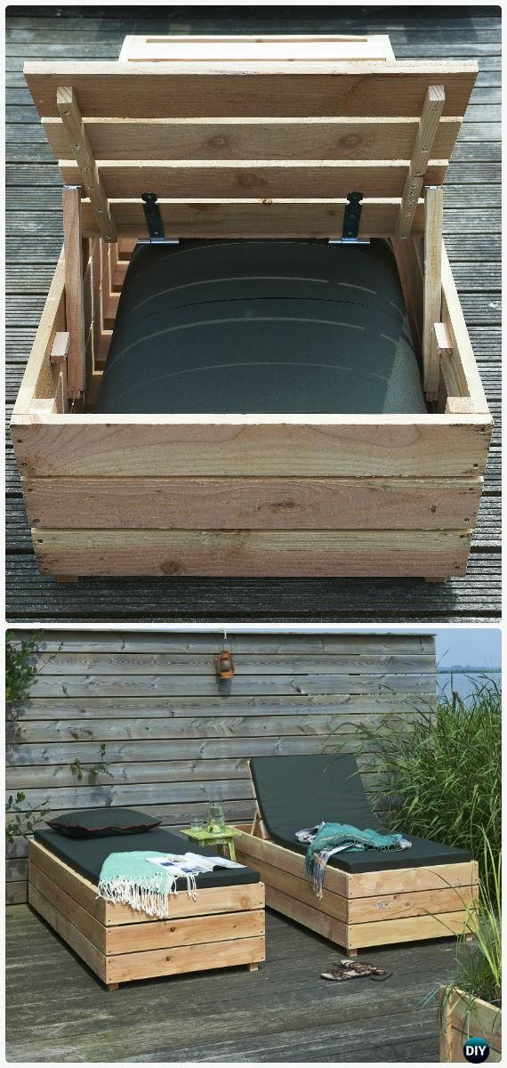 Cheap Outdoor Furniture Ideas Lounge Diy Patio Wood Lounge 640 x 480