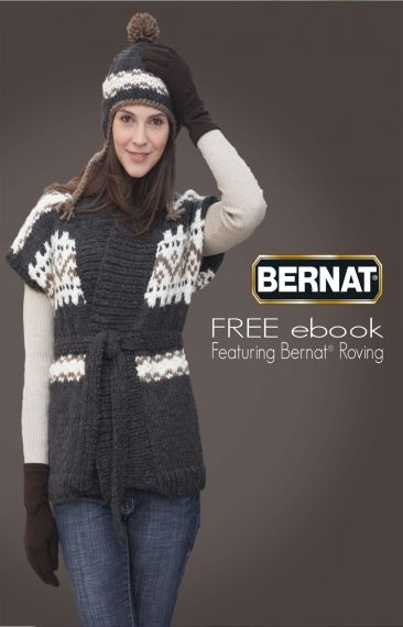 Bernat Roving Ebook Yarn Free Knitting Patterns Crochet