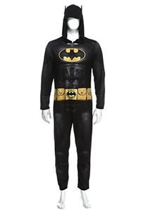 fcbbb4ed560 Batman the Dark Knight Adult Mens Onesie with Hood - 379870