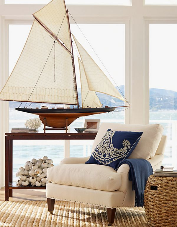 Nautical Decor Ideas Riding The Waves With Sailboats And Surfboards