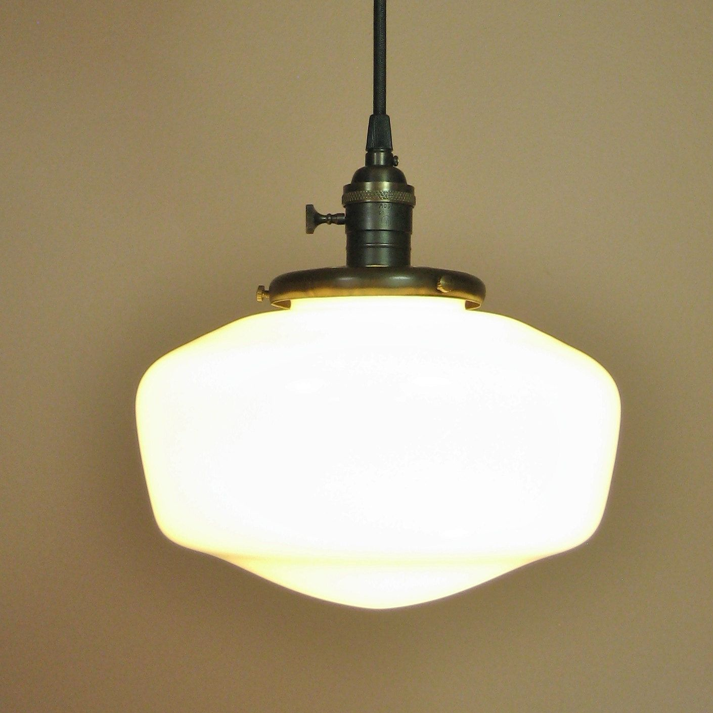 Schoolhouse pendant light come on in pinterest pendant