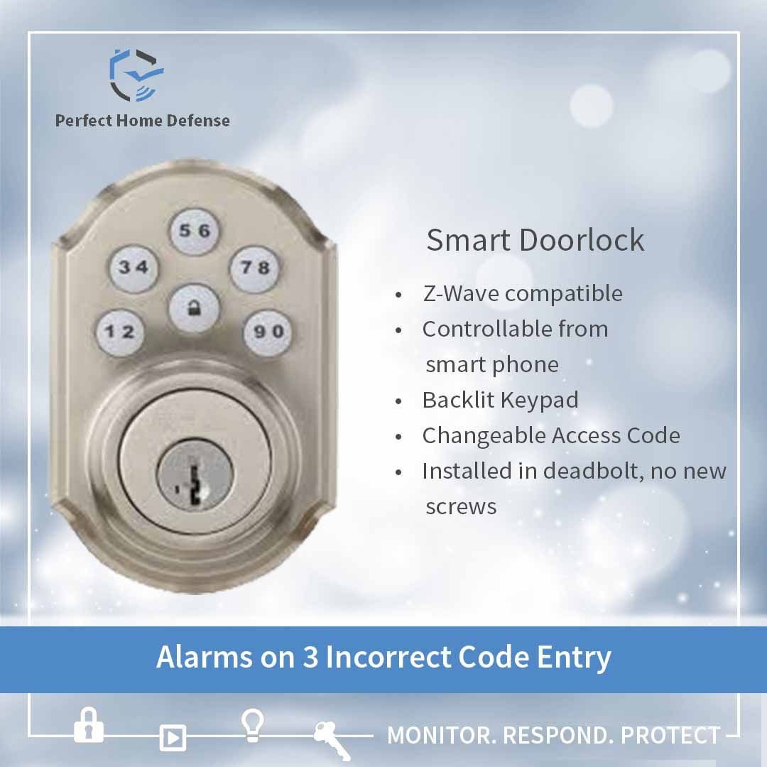 Use Smart Door Locks For Smart Access You Can Assign The Access Of Your Door Lock To Any Of Your Fami Smart Door Locks Home Security Alarm Safety And Security