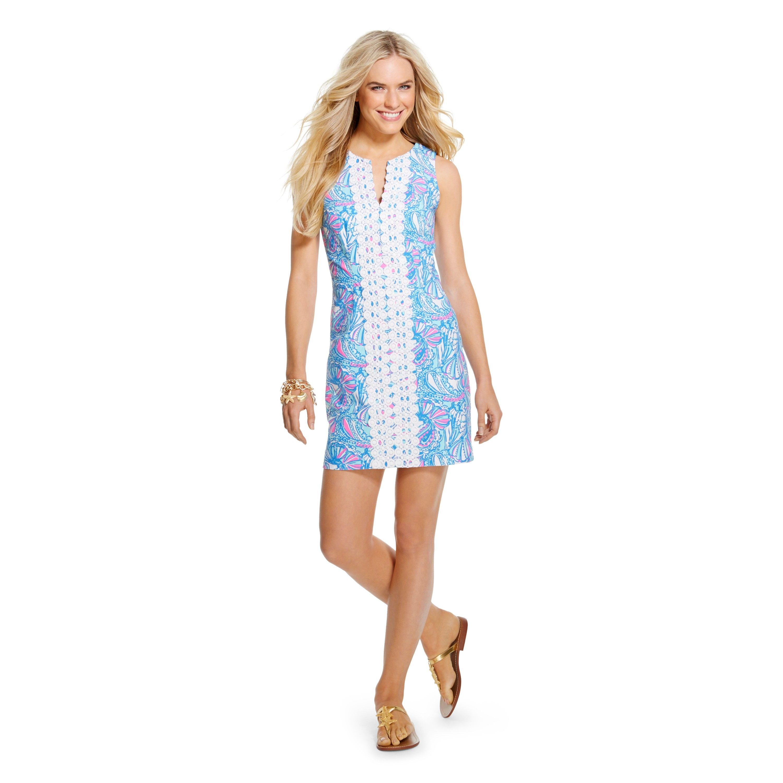 Lilly Pulitzer For Target Women S Shift Dress Target Womens Shift Dresses Lilly Pulitzer Target Mini Shift Dress