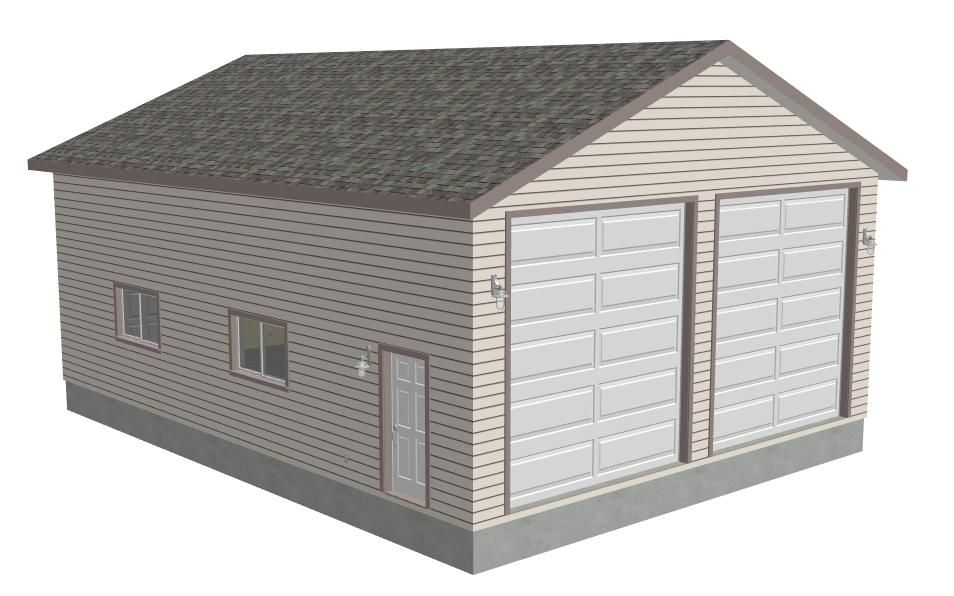 G371 30 X 40 X 14 Workshop Rv Garage Plans Pdf And Dwg Garage Plans Rv Garage Plans Shed Plans