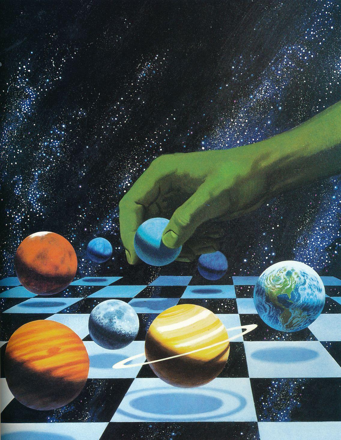 The Fantastic Art of Svyatoslav Gerasymchuk | Sci-Fi Artist |Science Fiction Graphics
