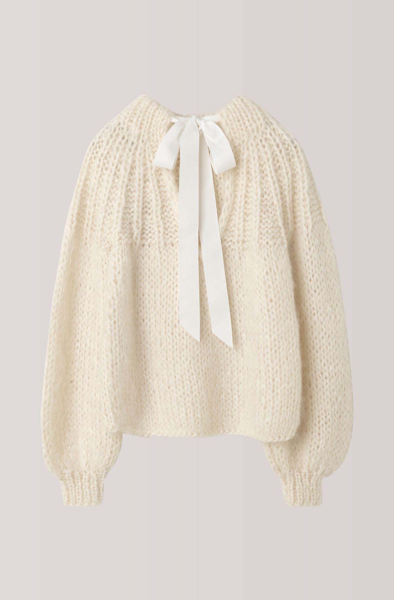 1b3b752954 The Julliard Mohair Bow Pullover, Vanilla Ice | Wish List | Hand ...
