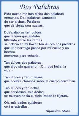 Alfonsina Storni Poemas Buscar Con Google Poemas Poemas