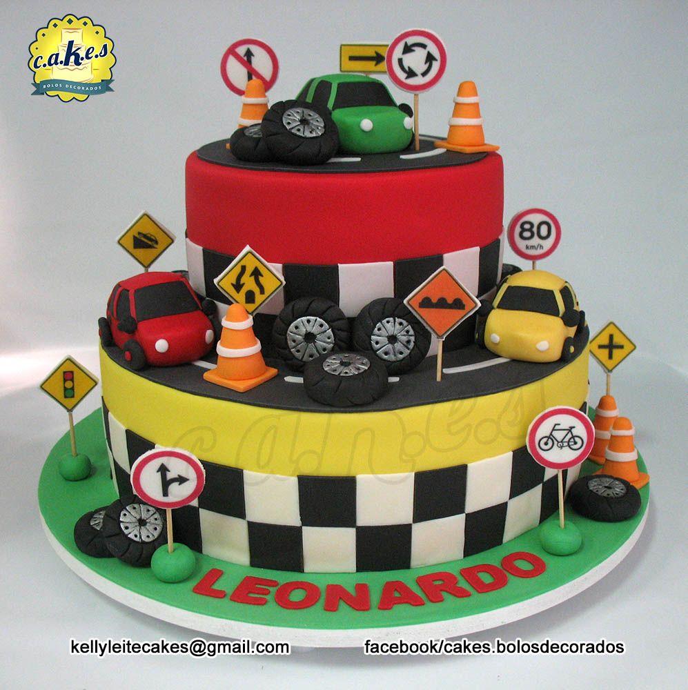 Decoracao fazendinha luxo bolo falso ccs decoracoes eventos car - Bolo Carros E Tr Nsito