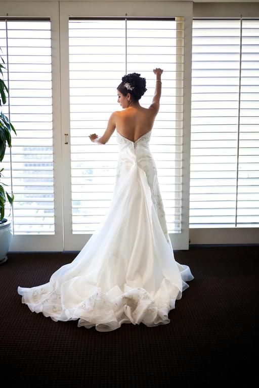 Allure Bridals 8514: buy this dress for a fraction of the salon price on PreOwnedWeddingDresses.com