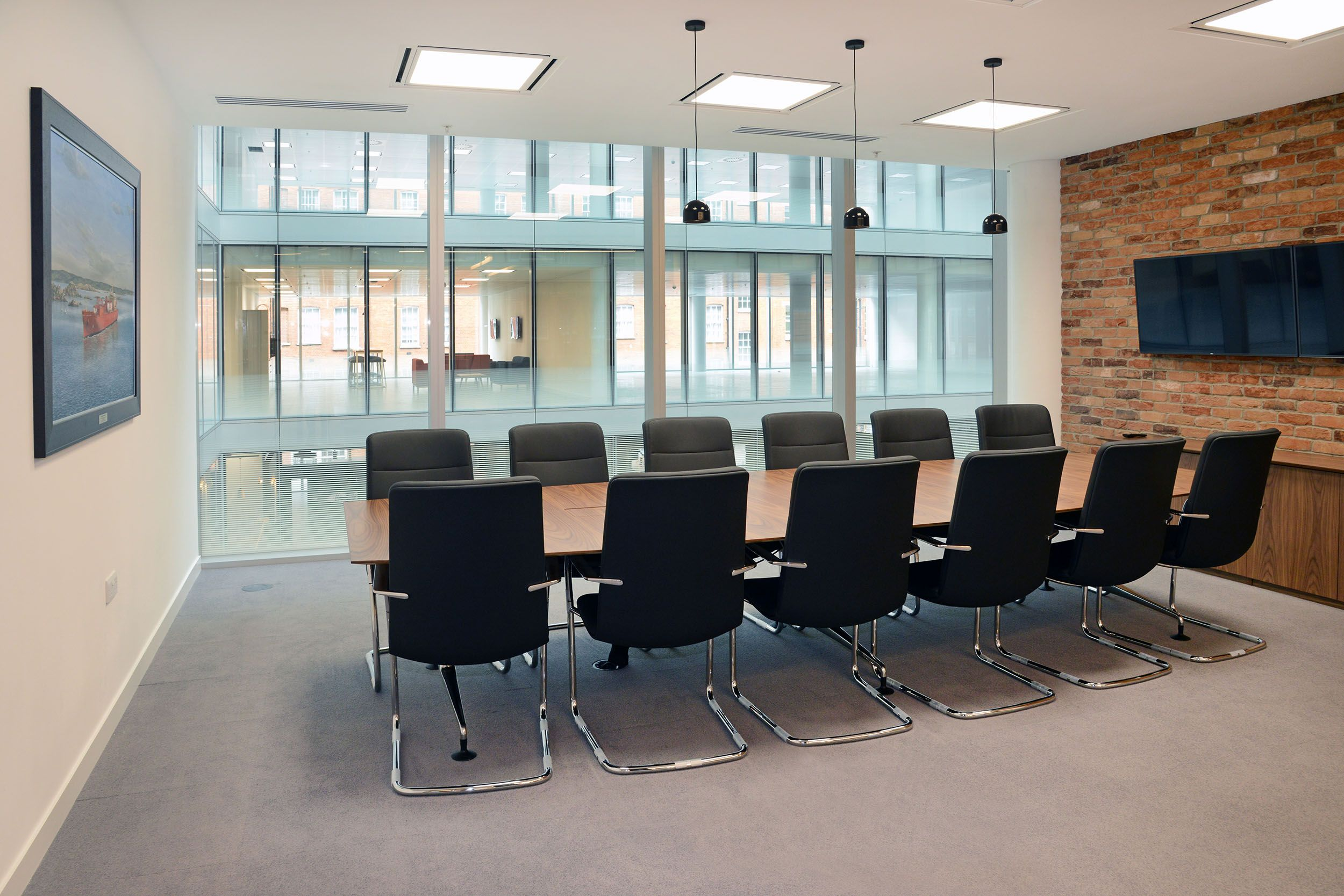 12 Person Boardroom 11 500 Sq Ft Category B Fit Out And Furniture Furniture Home Decor Home