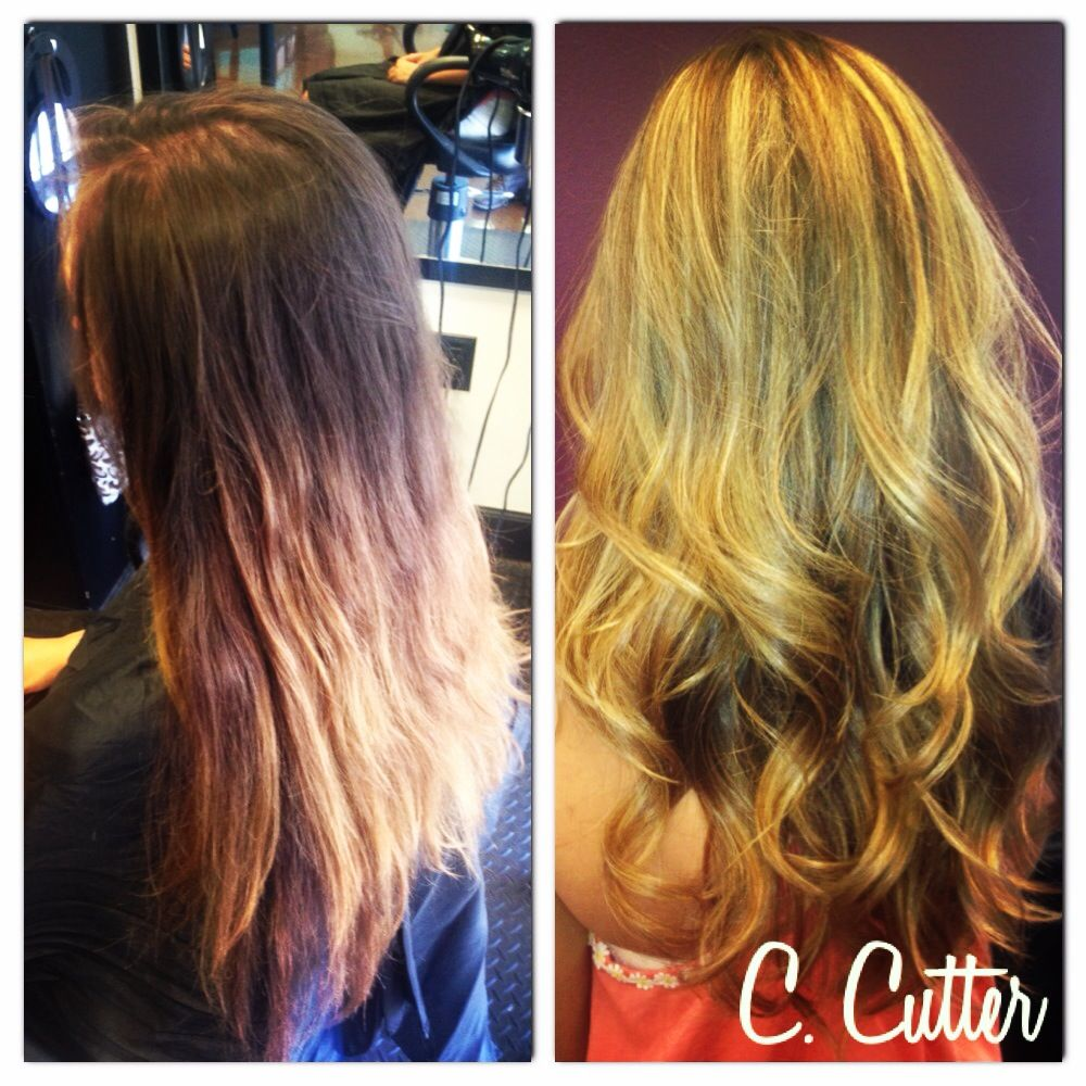 Dark To Light Hair Color Before After Before After Hairstyles
