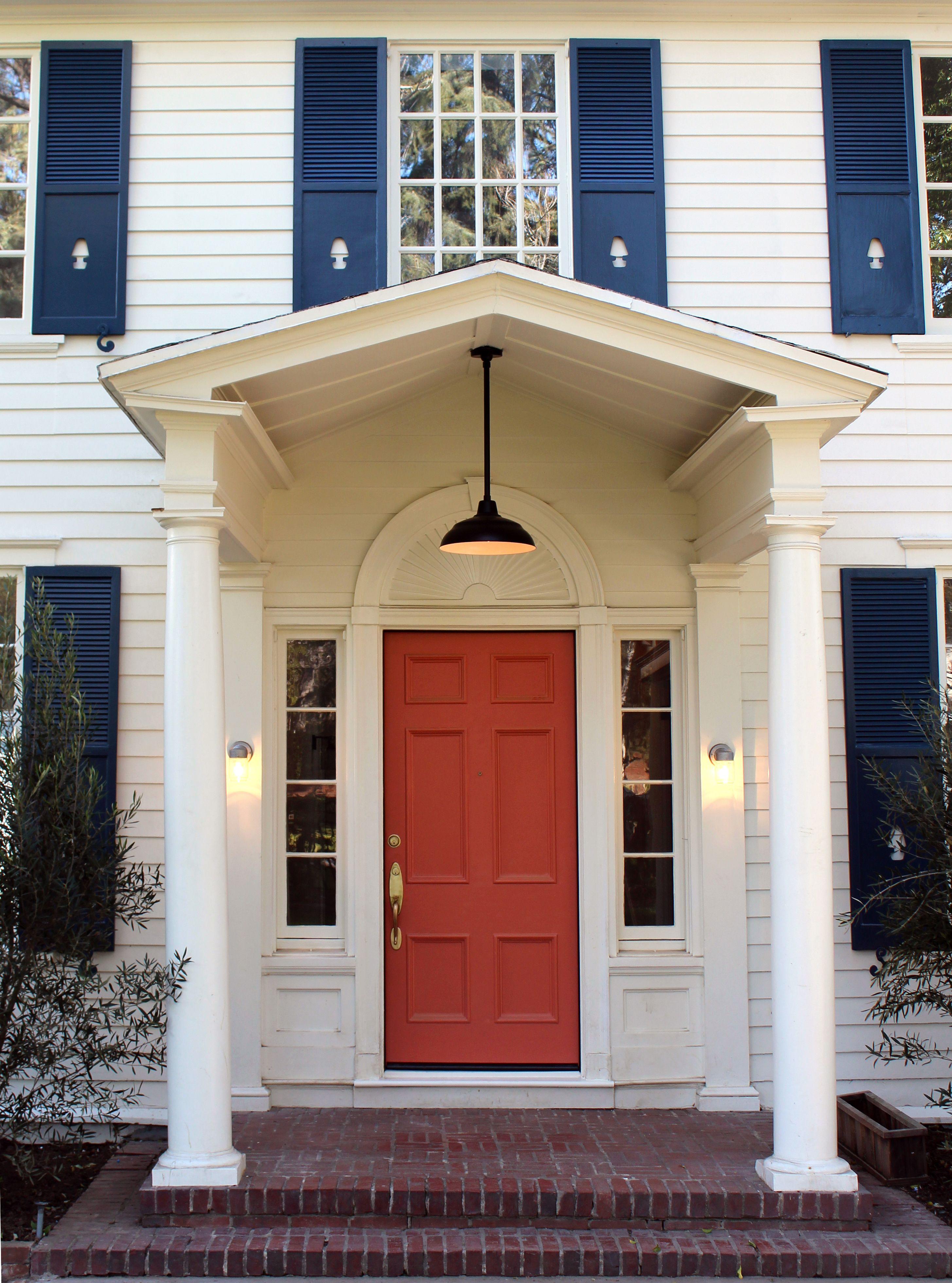 Front Door Paint Benjamin Moore Golden Gate 33 High