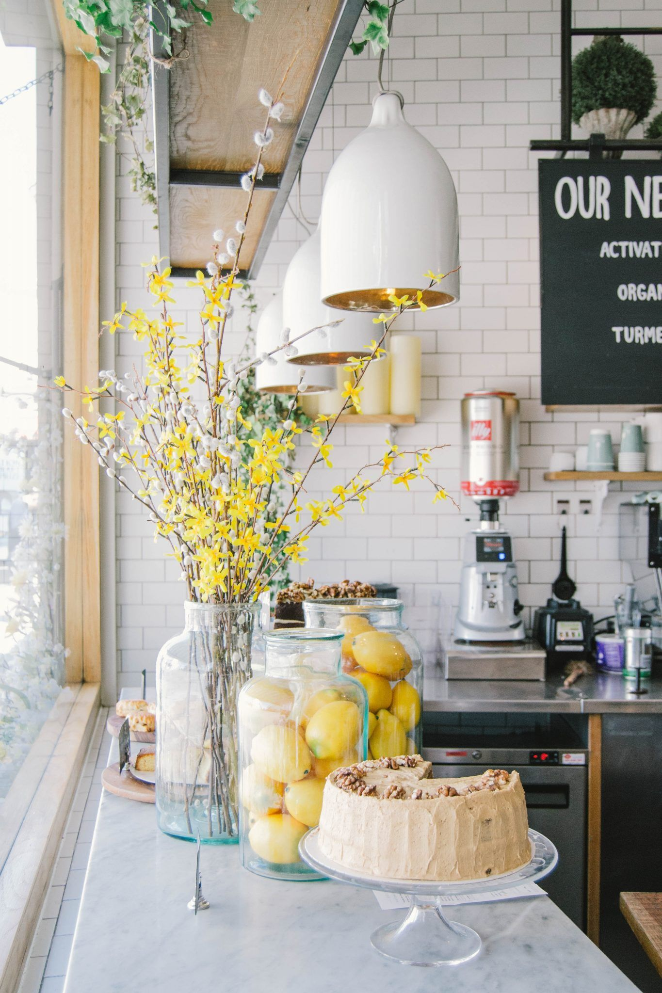 23 Impressive Kitchen Counter Decor Ideas For Styling Your Kitchen Counter Decor Lemon Kitchen Decor Kitchen Counter Decor