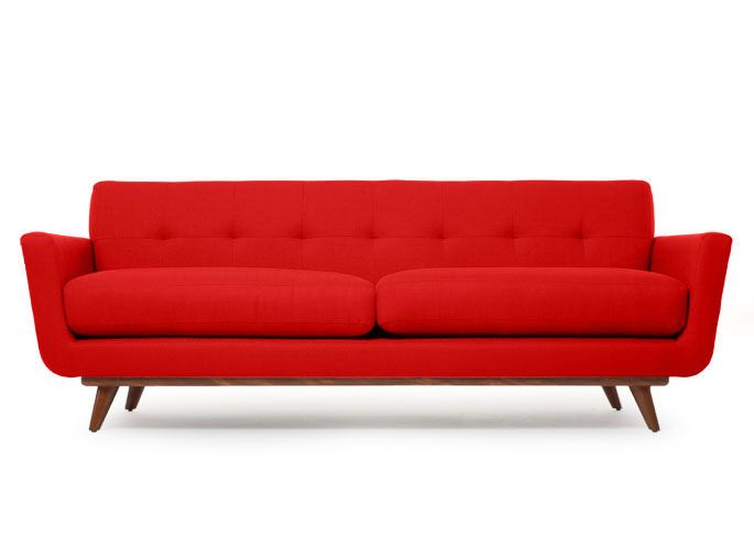 Landlordrocknyc Cheap Thrills The Nixon Mid Century Modern Sofa Is Retro Cool But Not As Cool As The Grover Cleveland Inexpensive Mid Century Modern Furniture Cheap Mid Century Modern Furniture Mid Century Modern