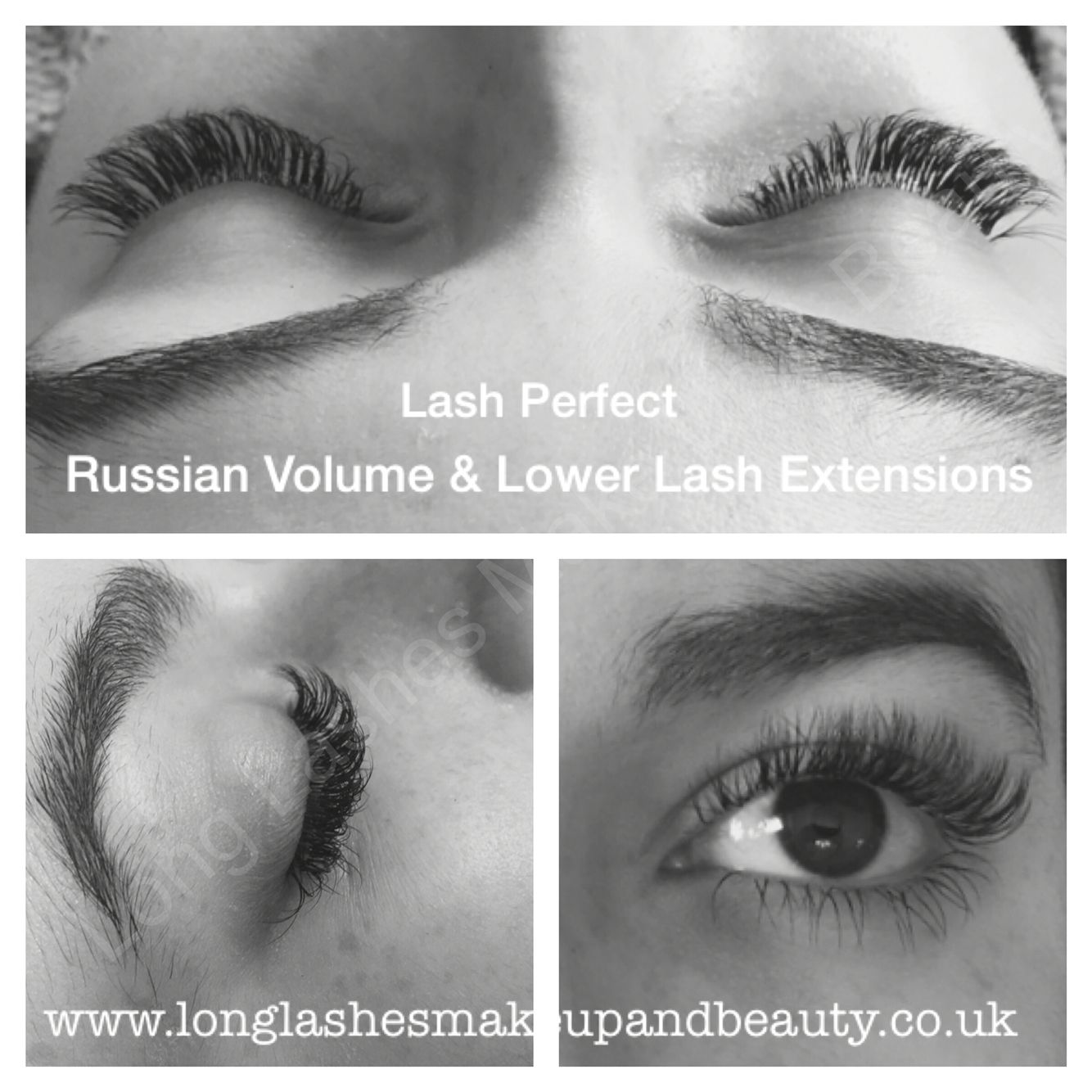 Lash Perfect Russian Volume Lash Extensions And Lower Lash