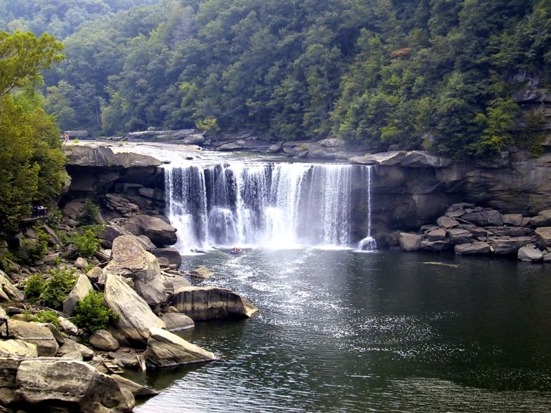 Cumberland Falls - I can't wait to take wedding pictures here!