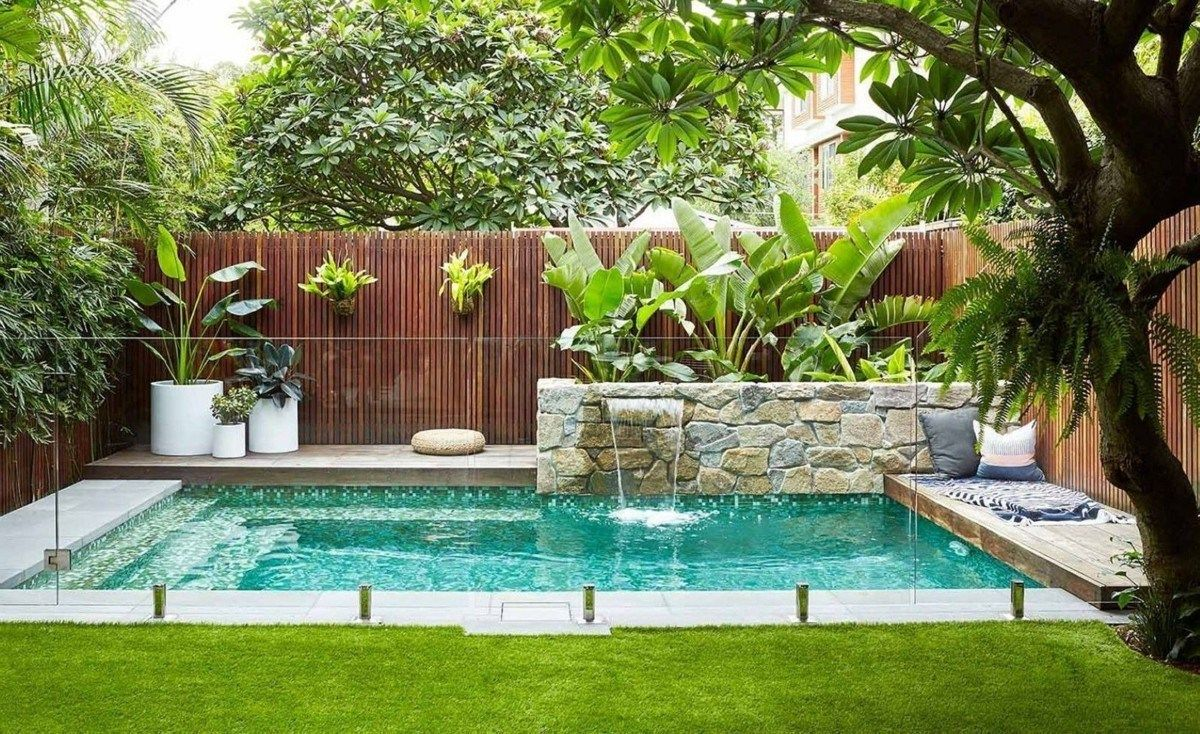 Pin On Backyard Small Pool Ideas