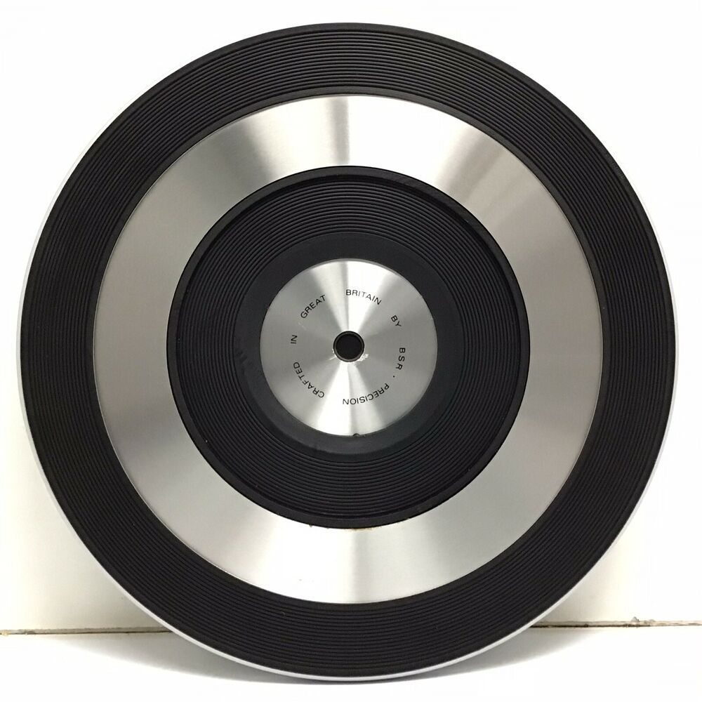 Vintage Bsr C141r Turntable Record Player Platter Slip Mat 78mm 10 15 16 Bsr Turntable Record Player Record Player Vintage Record Player