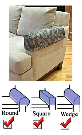 Gentil These Look Really Ugly But This Would Be What We Would Use To Make Our Own.  Couch Arm CoversArmchair CoversRecliner SlipcoverChair SlipcoversDiy ...