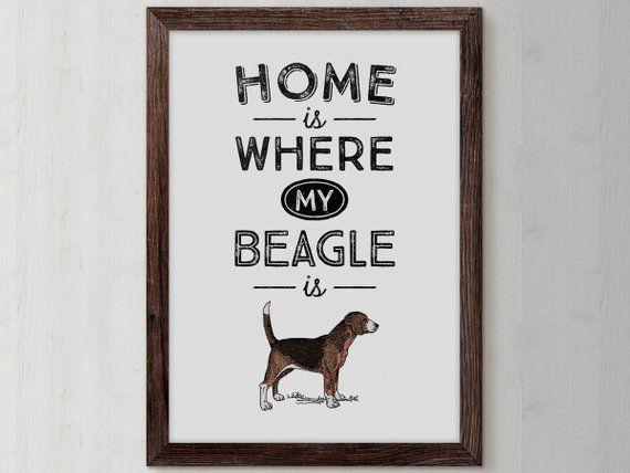 Beagle Beagle Art Print Beagle Gifts Beagle Art Beagle Print