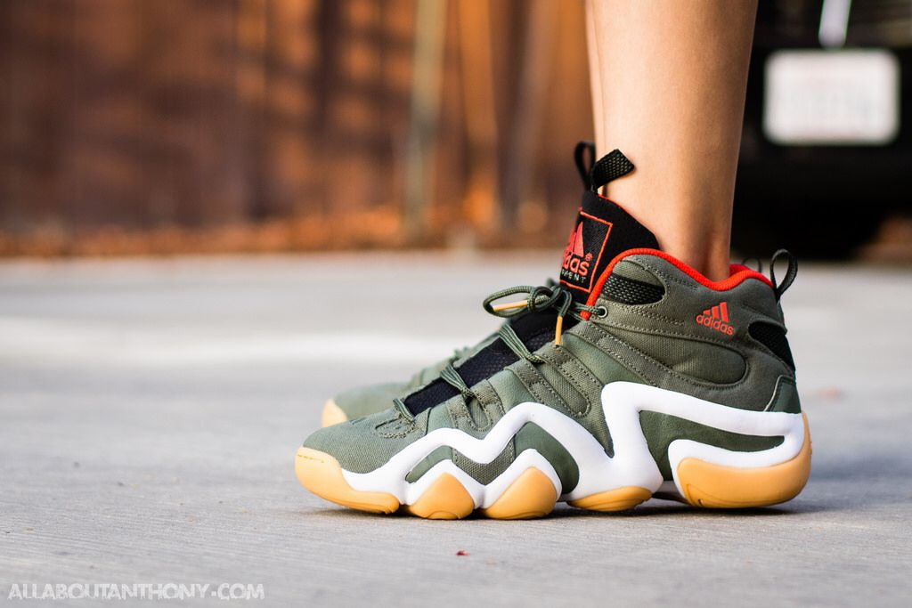 outlet store 88eb4 547a5 Adidas Crazy 8 Base Green