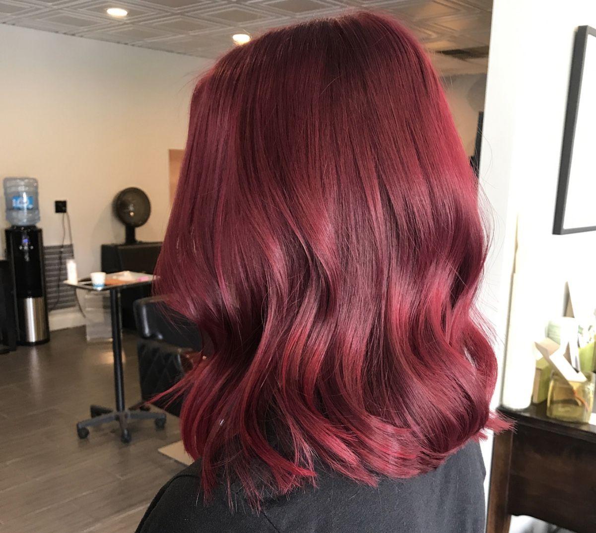 Photo of Mulled Wine Haare sind eine gute Möglichkeit etwas mehr style in seinen Look zu…