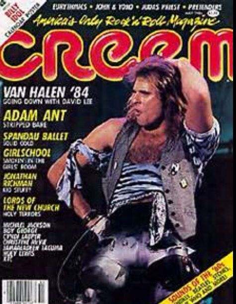 Creem Magazine Cover Van Halen Van Halen Cover Band David Lee Roth