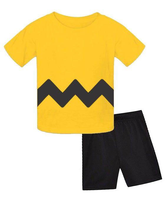 Yellow Zig Zag Infant and Toddler Kids Halloween Costume