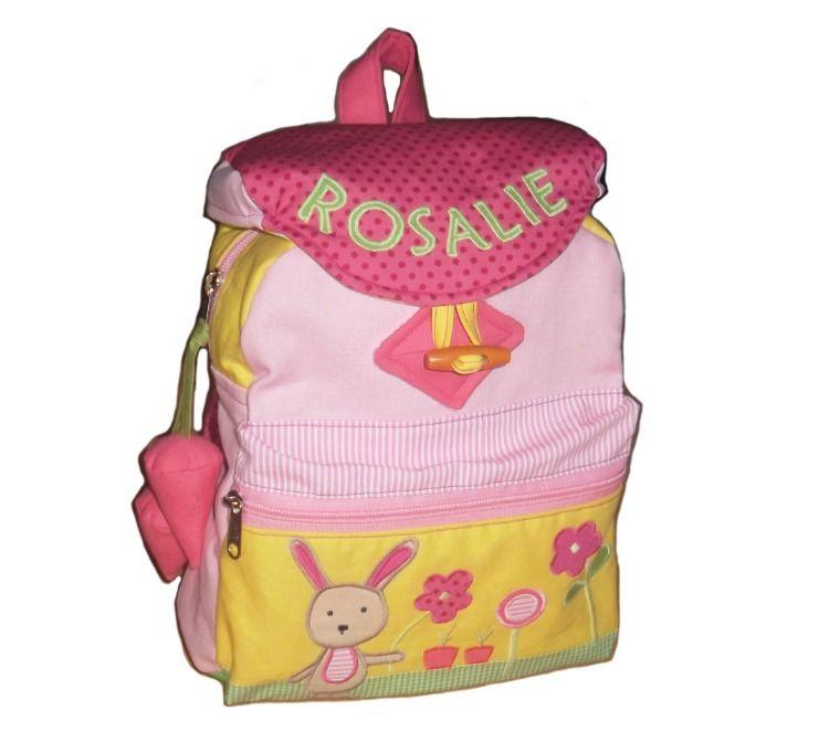 Rucksack für Kinder mit Name Kindergarten Mädchen Kinderrucksack viele Motive